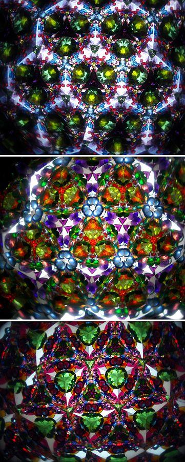 Actual kaleidoscopes