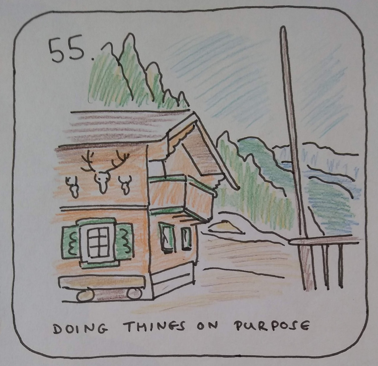 Doing things on purpose